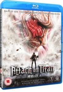 Attack on Titan: The Movie - Part 1 & Part 2 [Blu-ray] £7.19 each delivered @ Hive