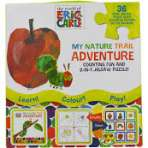 The World Of Eric Carle My nature Trail Adventure Counting Fun and 2 in 1 Jigsaw puzzle - £1.29 instore @ Home Bargains