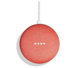 Google Home Mini Coral (Charcoal and Chalk also available) + Chromecast £49 @ Argos
