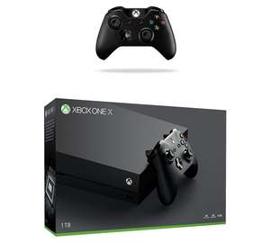 Xbox One X Console and State of Decay 2 and Extra Xbox One Black Controller + Call of Duty: WWII and Overwatch £449 @ Tesco