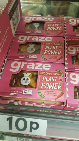 Graze box for £0.10 instore at Tesco Riverside (Dundee)