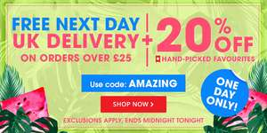 20% off Hand Picked Favorites with code @ Book People plus free Delivery on Orders over £25