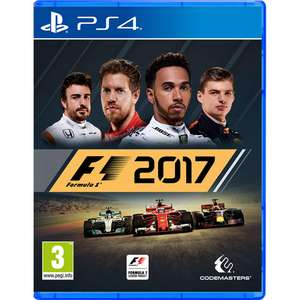 [PS4/Xbox One] F1 2017 - £17 - Ao/Ao eBay