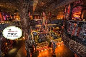 3-Course Dining, Cocktails & Weekend Club Entry For 2 now £49 (£24.50pp) @ Shaka Zulu, Camden via Wowcher