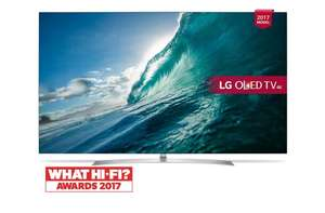 World Cup TV Offer - LG OLED55B7V 55 inch OLED 4K Ultra HD Premium Smart TV Freeview Play £1349 @ Richer sounds w/code
