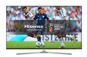 Hisense 55U7A 55 inch 4K Ultra HD HDR Smart ULED TV Free 6 Year Guarantee £569 @ Richer sounds