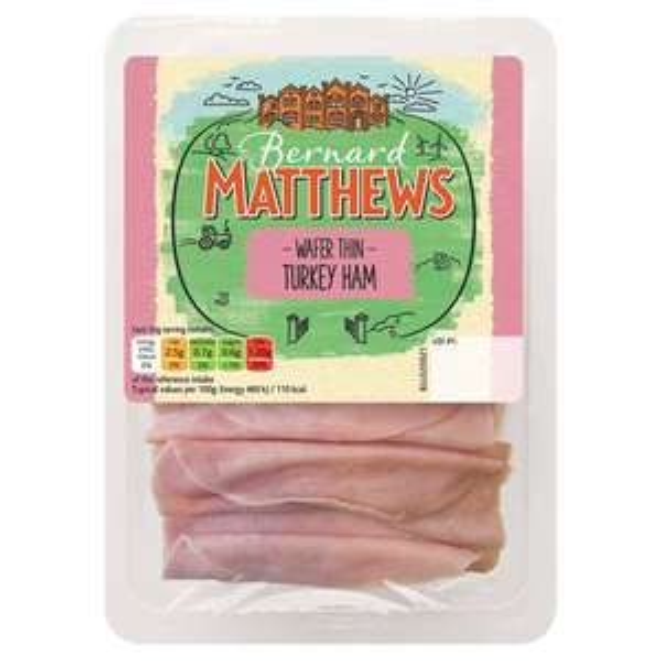 Bernard Matthews Wafer Thin Turkey Ham 140g £0.50 till 29 May @ Iceland