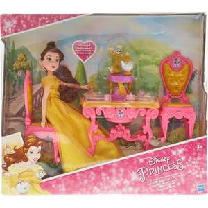 Hasbro Be Our Guest Belle doll and teaset £12 @ TK Maxx - free c&c