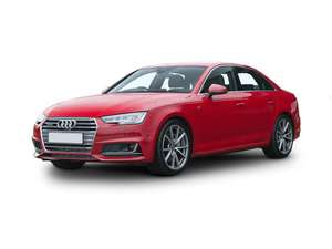 Audi A4 Saloon Special Editions 1.4T FSI Black Edition 4dr personal lease: £2400 initial payment, £171.99 a month for 24 months