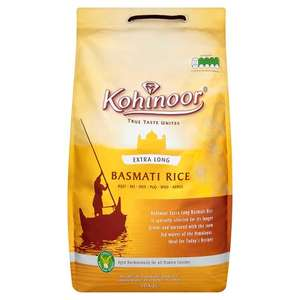 Kohinoor Extra Long Basmati Rice 10Kg for £11 @ Tesco online & Store