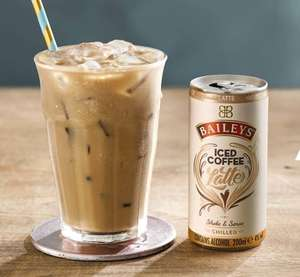 Baileys iced coffee in a can! Latte and Mocha flavours 4 for £5 at Asda (works out at £1.25 each)