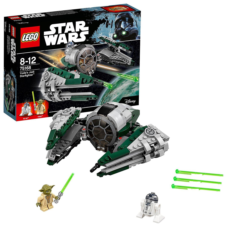 LEGO 75168 Star Wars Yoda's Jedi Starfighter £13.49 prime / £17.98 non prime @ Amazon