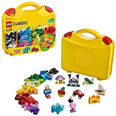 LEGO UK 10713 Classic Creative Suitcase - £11.99 @ Amazon with Prime