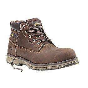 Site Aplite safety boots brown asst sizes £27.99 @ Screwfix