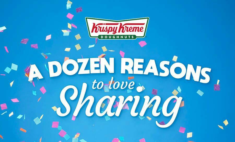 £2.50 off any Dozen plus other discounts @ Krispy Kreme