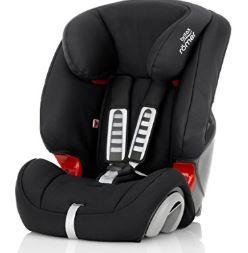 Britax Römer EVOLVA 1-2-3 Group 1-2-3 (9-36kg) Car Seat - Cosmos Black - Amazon £69.99