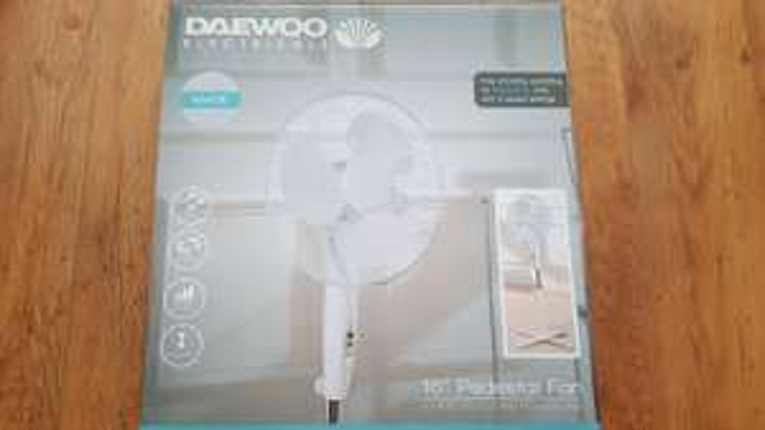 Daewoo 16 inch pedestal fan - £12.99 instore @ Iceland Food Warehouse (Cardiff)