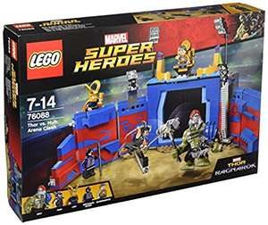 LEGO Super Heroes 76088 Thor vs. Hulk: Arena Clash Toy £33.99 delivered @ Amazon