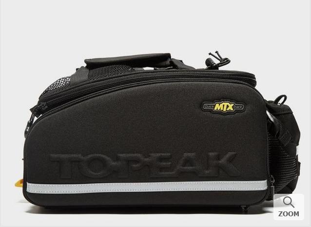 Topeak MTX Trunk Bag EXP - £38.25 (with code) @ Millets - plus £2.99 P&P