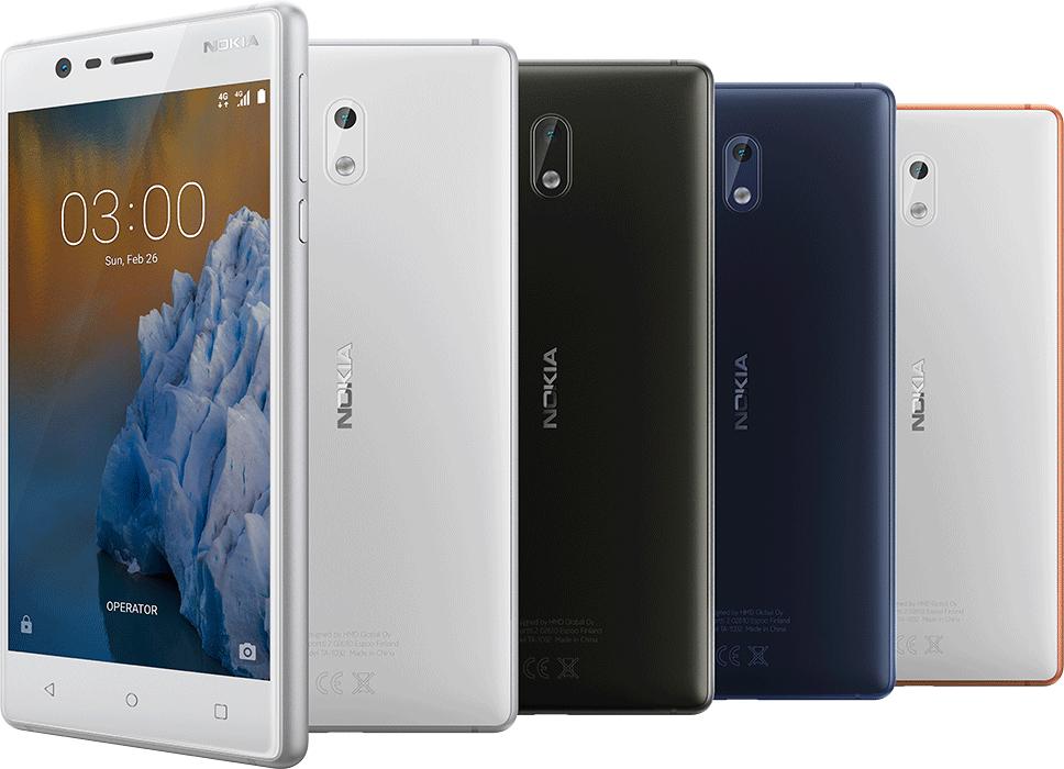 Nokia 3 (Refurbished A1 Pristine) In Copper White Colour - £59.97 - Laptops Direct