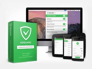 Adguard Programme (not browser extension) - lifetime license for 2 PC/Macs and 2 Android - £18 (with code) @ Stack Social