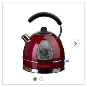Waring Red Classic Kettle 3kW at Dunelm for £24
