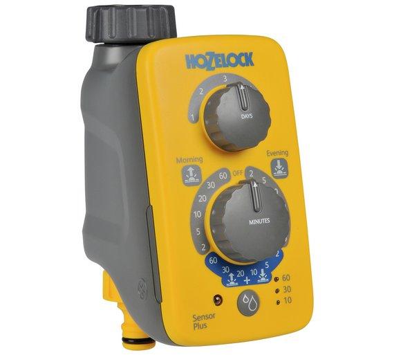 Hozelock Sensor Plus watering Timer half price Argos for £24.99