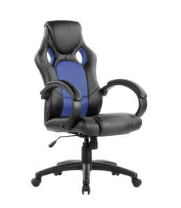 Eliza Tinsley PU Racing Style Gaming Chair - Black/Blue £51.99 Amazon
