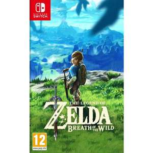 The Legend Of Zelda: Breath of the Wild. (Switch) £39.95 delivered @ TheGameCollection