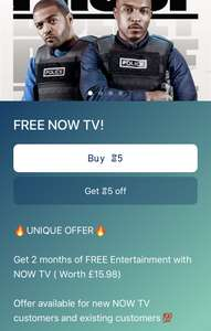 FREE 2 Months NOW TV Entertainment with Sweatcoin app New & Existing customers (Pls do not offer / request referrals)