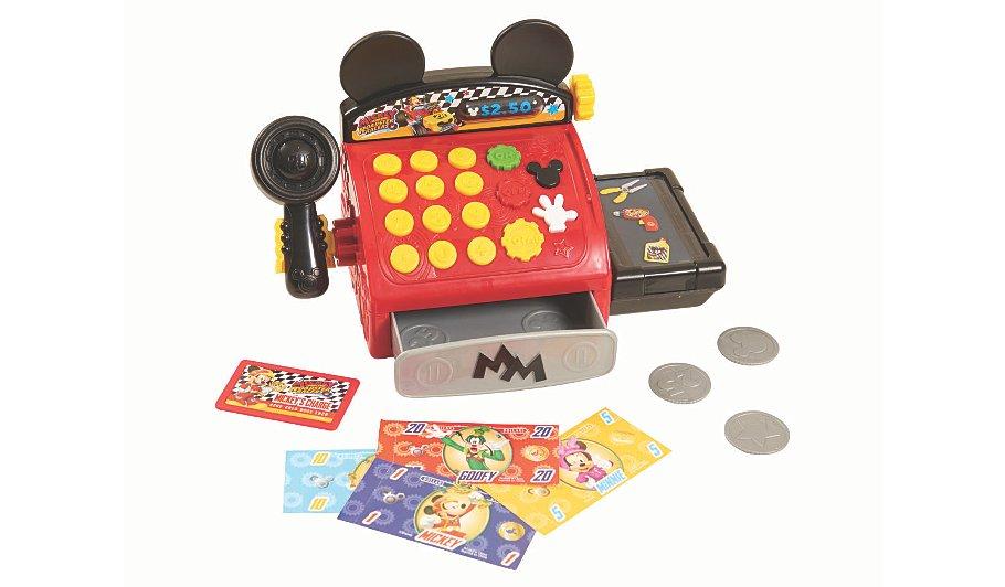 Mickey roadster racer cash register now £8.99 @ Asda C+C