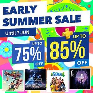 Early Summer Sale at PlayStation PSN Store Indonesia *Battlefront 2, Sims 4, Fifa 18, Battlefield 4, Batman, Walking Dead, Watchdogs, Killzone and MORE