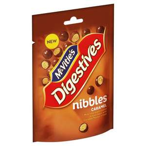 Mcvities Milk Chocolate Caramel Digestive Nibbles 120g - 50p at Morrisons