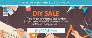 25% off DIY Products with Code @ Expert verdict