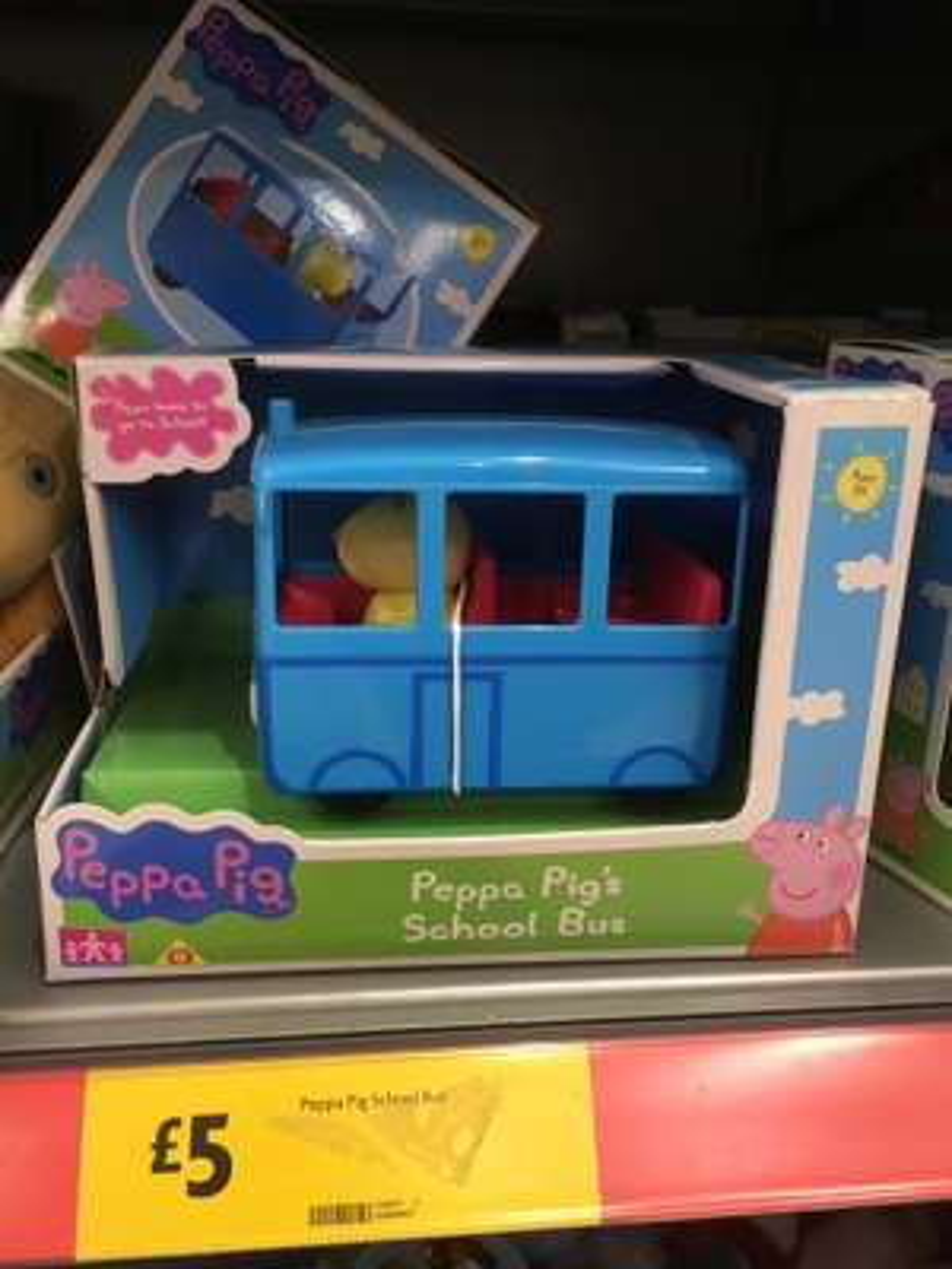 Peppa Pig Bus instore £5 Morrisons Redditch
