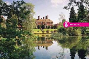4* Shropshire Manor House Stay, Dinner, Spa Treatment & Leisure Access for 2 now £61.27pp (£122.55) via Wowcher