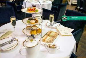 Afternoon Tea for 2 PLUS a Bottle of Prosecco to share at the 5* Waldorf, Covent Garden £39 @ Wowcher