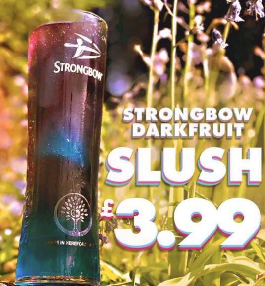 Strongbow Darkfruit Slush £3.99 @ Hungry Horse