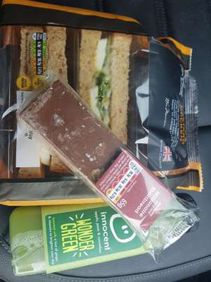 Morrisons meal deal £3 - includes premium sandwiches, drinks and snacks