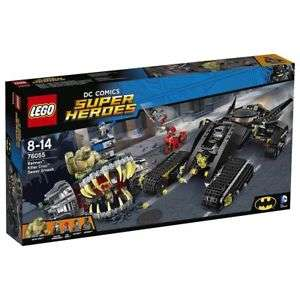 Lego 76055 Super Heroes Batman Killer Croc Sewer Smash £33.60  @ eBay (Tesco Outlet)