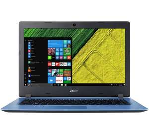 Acer Aspire One 14 Inch Celeron 4GB 32GB Cloudbook - Blue - £199.99 @ Argos