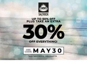 30% off everything at Saltrock