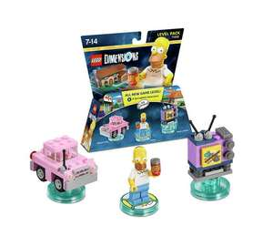 Lego Dimensions Simpsons Level Pack £5.25 @ Tesco Instore