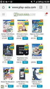 Play asia PSVITA SALE Odin Sphere: Leifdrasir (Japanese) Final Fantasy X HD Remaster (Chinese Subs World of Final Fantasy (Chinese Subs LittleBigPlanet PS Vita (Chinese & English Version) see description
