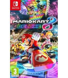 Mario Kart 8 Deluxe £34.19, Super Mario Odyssey £35.99, Mario & Rabbids Kingdom Battle £32.39, The Legend of Zelda: Breath of the Wild £22.49 (currently OOS) Bayonetta 2 Special Edition £22.49 (Currently OOS)Delivered @ Music Magpie
