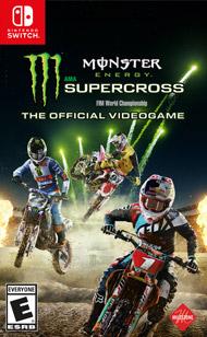 Monster Energy Supercross Nintendo Switch £15.59 @ Music Mapie Ebay