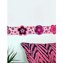 Diva Daisy Wallpaper Border Catalogue Number:296-8227 £2.45 Tesco/  Childrens Rooms LTD