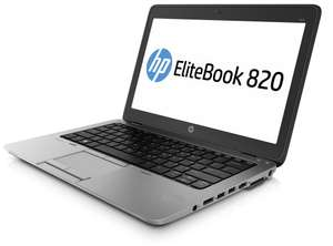 """Refurb Grade A HP Elitebook 820 G1 12.5"""" Laptop i5-4300U 180GB SSD Window 10 Carry Case Sign up for 10% off £209.99 @ Itzoo"""