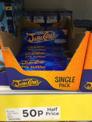 Jaffa Cakes - 50p @ Tesco instore and online