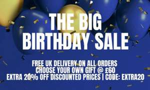 My protein THE BIRTHDAY SALE - free delivery  & free gift over £60